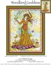 Woodland Goddess JE056 cross stitch chart Joan ... - $14.00