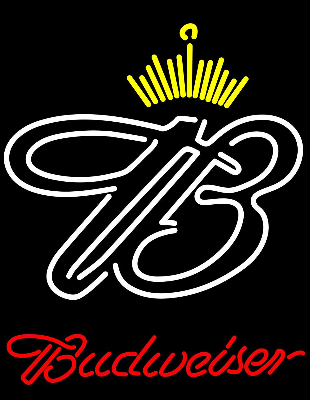 Budweiser crown neon sign 16  x 16