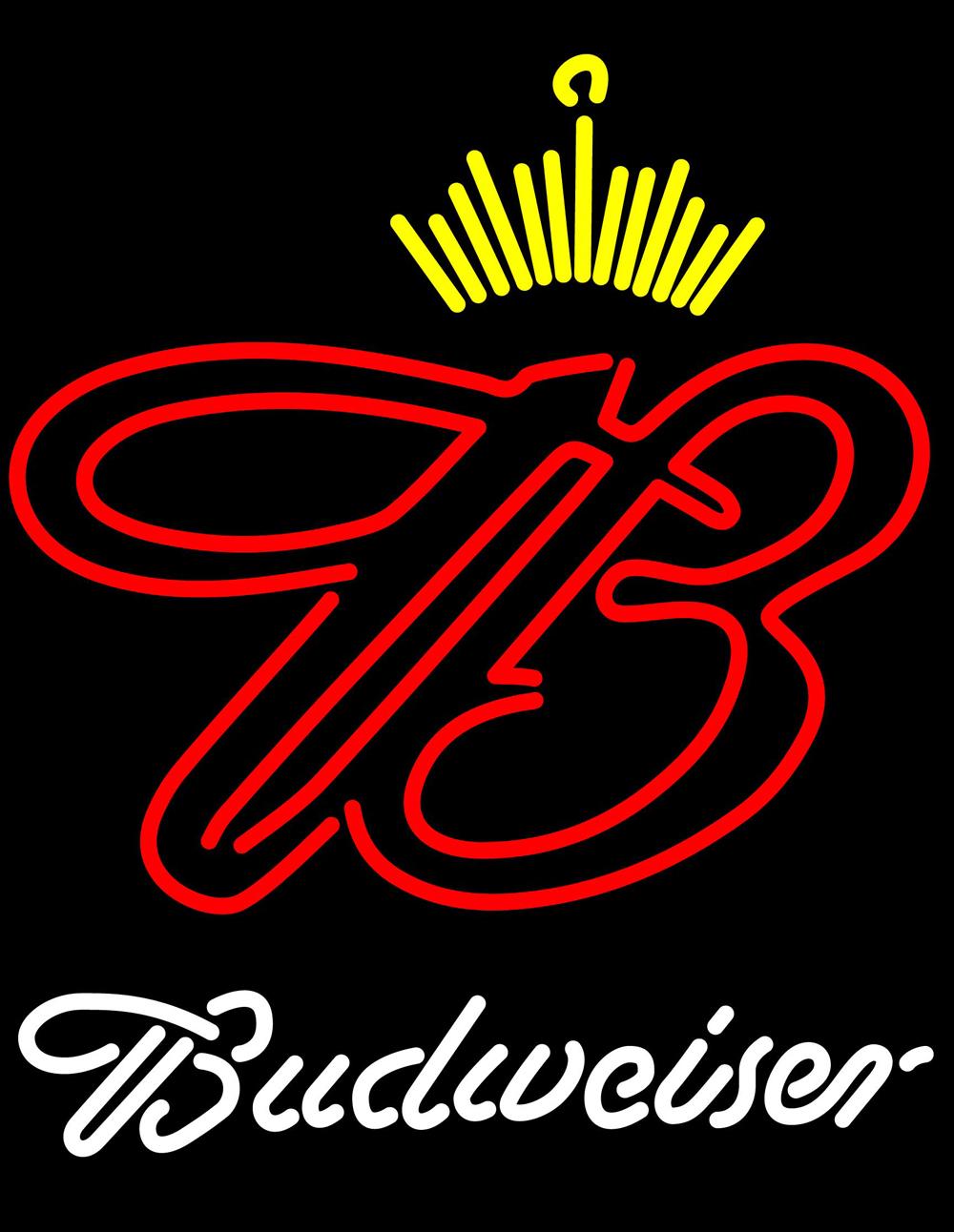 Budweiser Crown Neon Sign - Neon