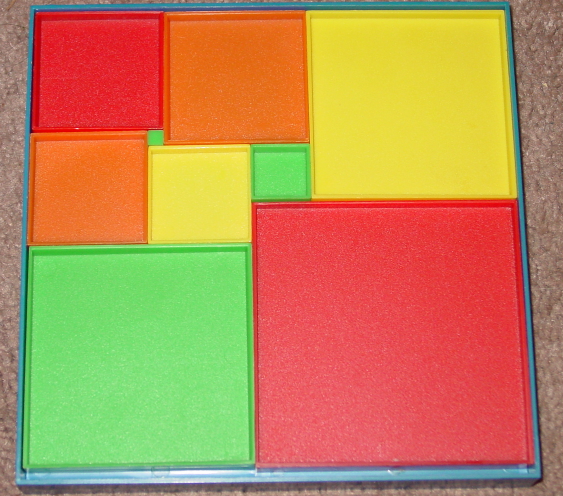 PERFECT SQUARES PUZZLE GAME 1992 FOUR STAR COMPLETE EXCELLENT