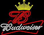 Budweiser king of beer it up neon sign 18  x 18  thumb155 crop