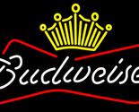 Budweiser crown neon sign 16  x 16  2 thumb155 crop
