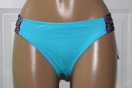 NEW Lucky Brand Global Mix 358251 Tab Sides Hipster Bikini Bottom L Large - $10.39