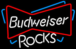 Budweiser Rocks Bowtie Neon Sign - $699.00