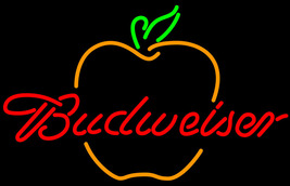 Budweiser great apple neon sign 16  x 16  thumb200