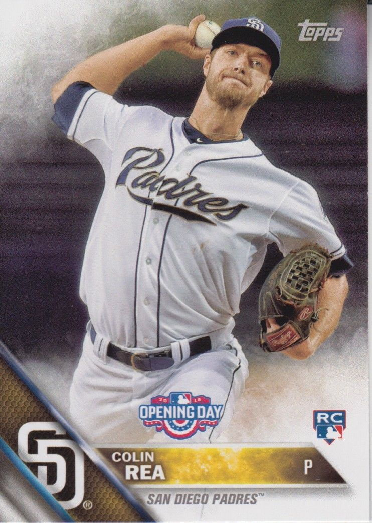 Colin Rea 2016 Topps Opening Day Rookie Card #OD-36