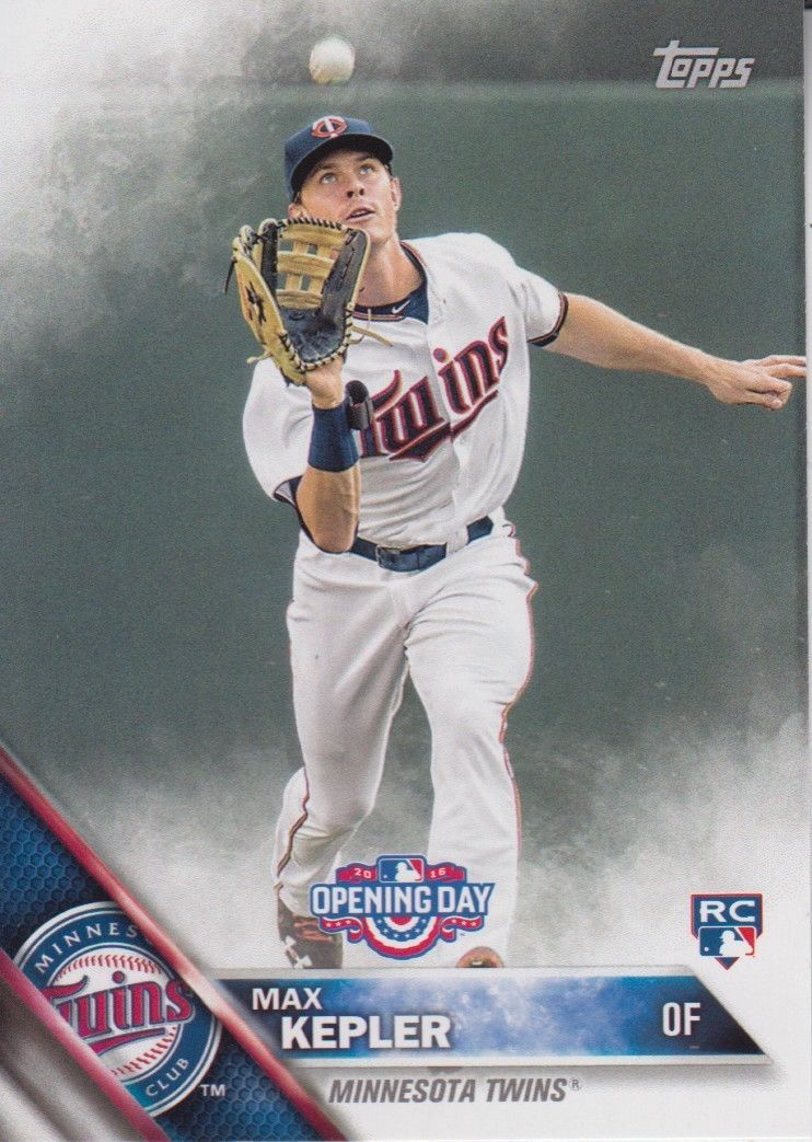 Max Kepler 2016 Topps Opening Day Rookie Card #OD-43