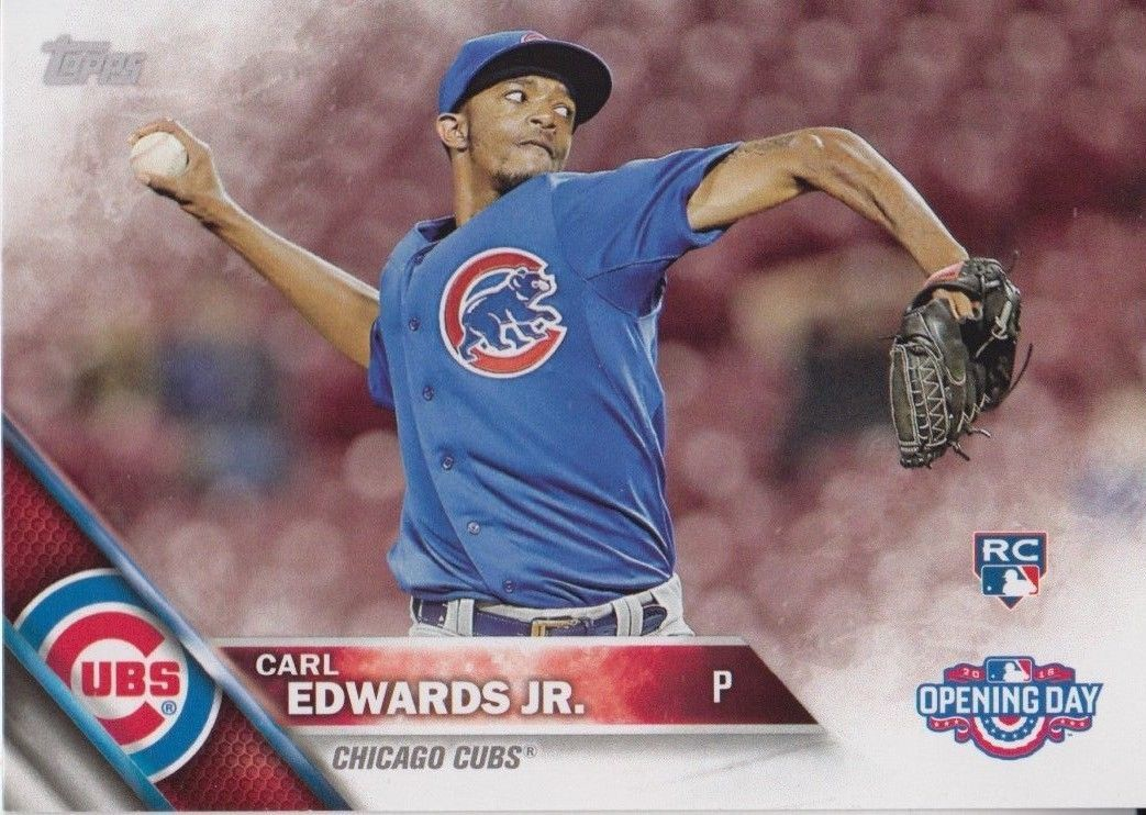 Carl Edwards Jr. 2016 Topps Opening Day Rookie Card #OD-46