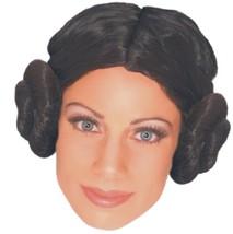 Star Wars - Wig - Princess Leia - Adult - Costume Accessory - Fully Wash... - $10.48