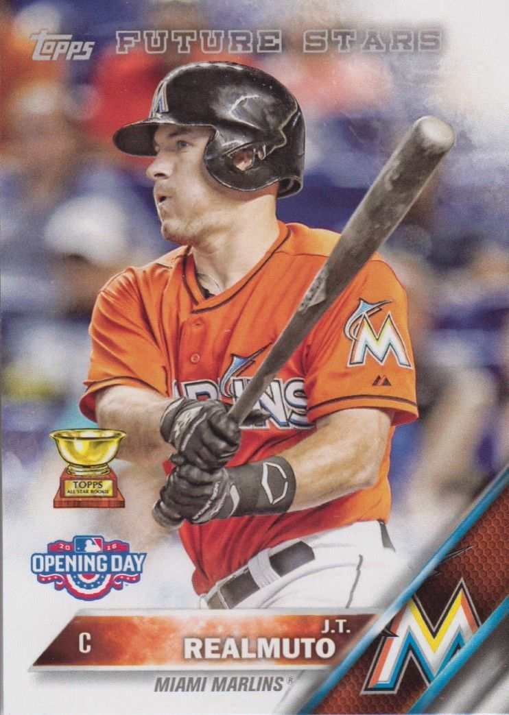 J.T. Realmuto 2016 Topps Opening Day Future Stars Card #OD-174