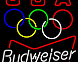 Budweiser olympic neon sign 16  x 16  thumb155 crop