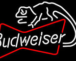 Budweiser louie lizard bowtie neon sign 16  x 16  thumb155 crop