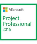 Microsoft Project Professional 2016 32/64-bit (English) - $99.99