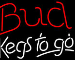 Budweiser kegs to go neon sign 16  x 16  thumb155 crop