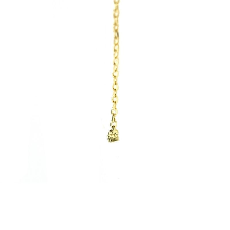 Pave AAA  Cubic Zirconia 40mm Bar Gold Plated Pendant Necklace