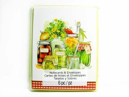 Preserves Canned Vegetables - Country Series Notecard - Blank Note Cards - $2.00