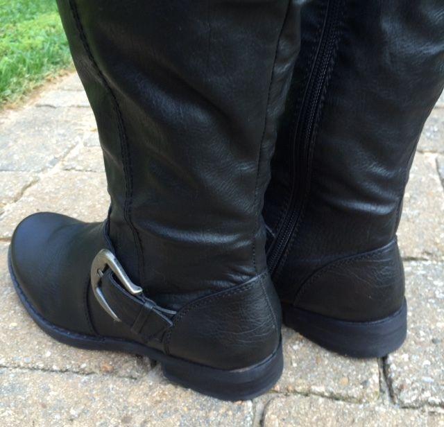 e73fa9d172c5f S l1600. S l1600. Previous. Womens Bare Traps Black JOCEY Knee High Riding  Fashion Boots w/Stretch Calf ...