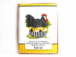 Chicken Hen - Country Series Notecard - Blank Note Cards - $2.00