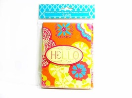 Hello (Colorful) - Festive Series Notecards - Blank Note Cards - $2.00