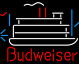 Budweiser riverboat neon sign 16  x 16  thumb155 crop