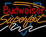 Budweiser super fest neon sign 16  x 16  thumb155 crop
