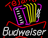 Budweiser tejano neon sign 16  x 16  thumb155 crop