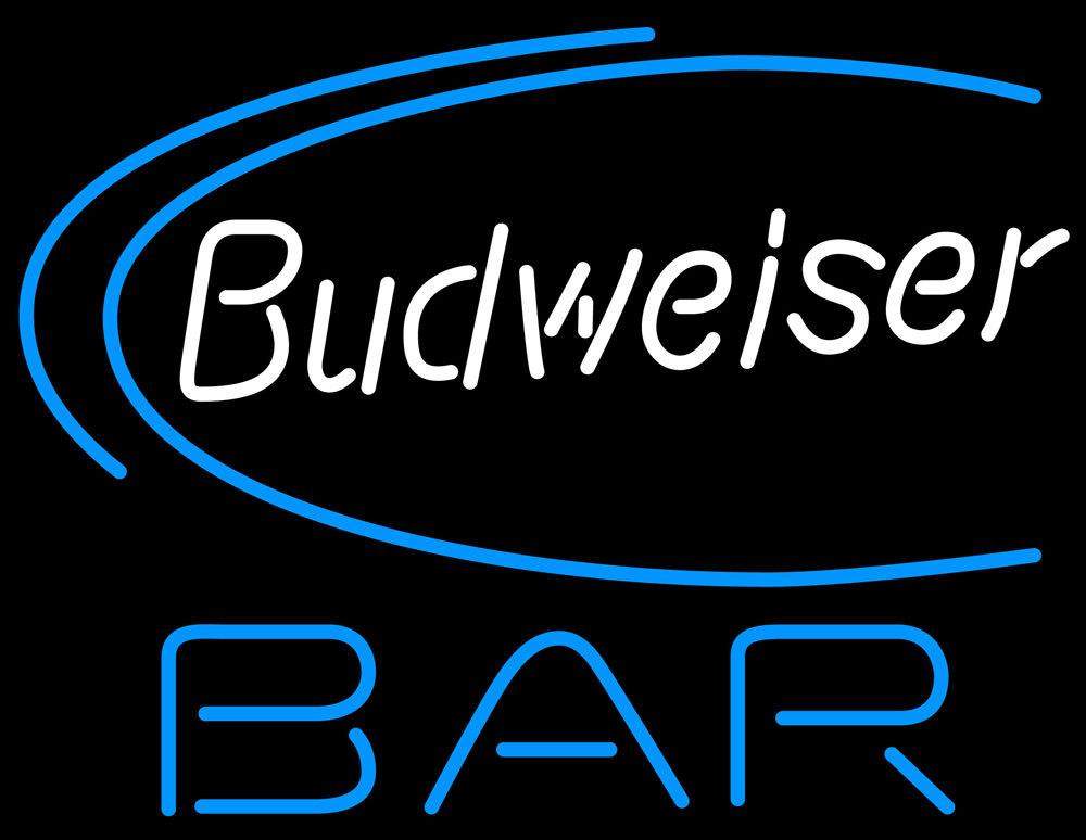 Budweiser beer bar neon sign 16  x 16