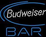 Budweiser beer bar neon sign 16  x 16  thumb155 crop