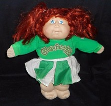 Vintage 1982 Cabbage Patch Kids Long Red Cheerleader Stuffed Animal Plush Toy - $36.47