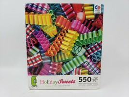 Ceaco Holiday Sweets 550 Pc Jigsaw Puzzle - Bonbons de Noël - New - $16.99