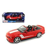 Maisto 31669 2010 Ford Mustang Convertible 427R Roush Edition Red 1/18 D... - $53.98