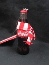 Coca-Cola Ornament Bottle w/ Scarf - OFFICIAL PRODUCT - $7.43
