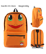 Kemon go back to school bags charmander children shoulder daypack backpack for kids 01 thumbtall