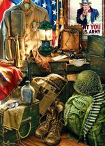 """U.S. Army Men of Honor 1000 Piece Jigsaw Puzzle Gelsinger 19.25X26.75"""" - $10.89"""