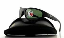 Ray Ban Predator Polarized Sunglasses RB4033 601S48 Matte Black W/ G-15 ... - $82.99