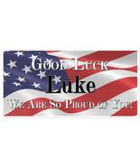 Military Service Going Away Good Luck Custom Banner - $22.28