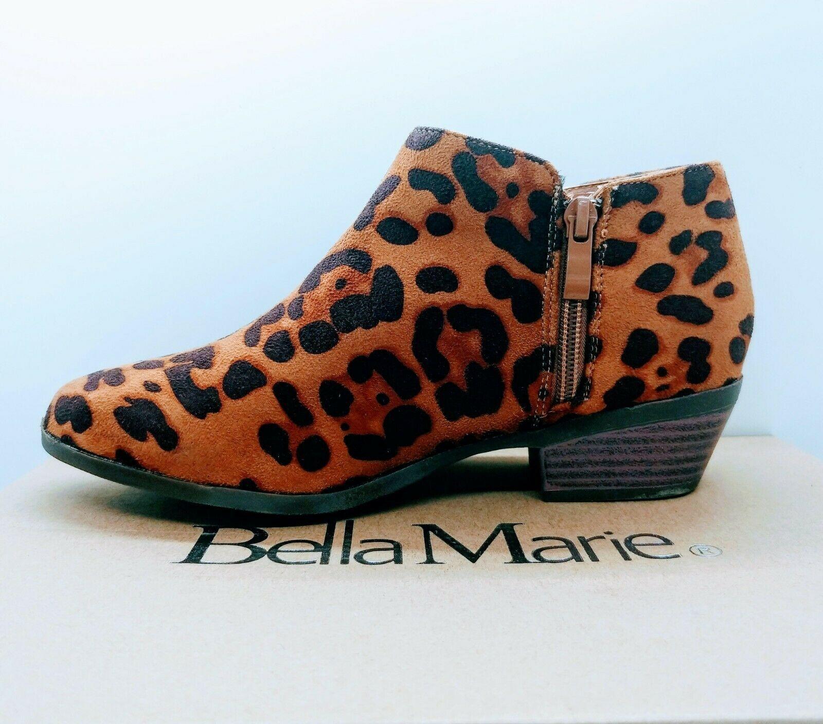 Women Leopard Ankle Boot