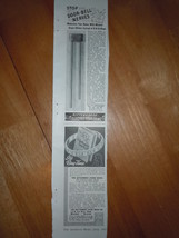 Vintage Aittenhouse Electric Door Chime & Ring Time Small Print Magazine... - $3.99