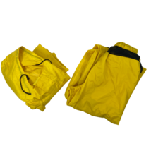 C.E. Schmidt Workwear Mens Size XL Yellow Hooded Jacket & Pants 2 Piece ... - $39.56