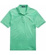 Polo RL Men's Interlock Pony Shirt X-Large (Summer 2020) Palm Green Heather - $88.89