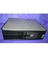 Dell OptiPlex 380 Desktop Computer PC W/ Hard Drive Caddy Windows 7 Pro 6Q1SZQ1 - $49.49