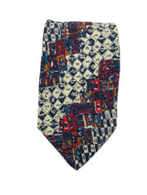 Vintage Missoni Cravatte Men's Silk Neck Tie Geometric Pattern Classic S... - $23.24