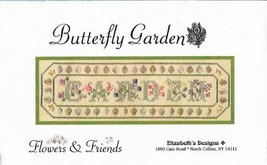 Butterfly Gardens Kit Counted Cross Stitch Flowers & Friends Includes 4 ... - $19.79