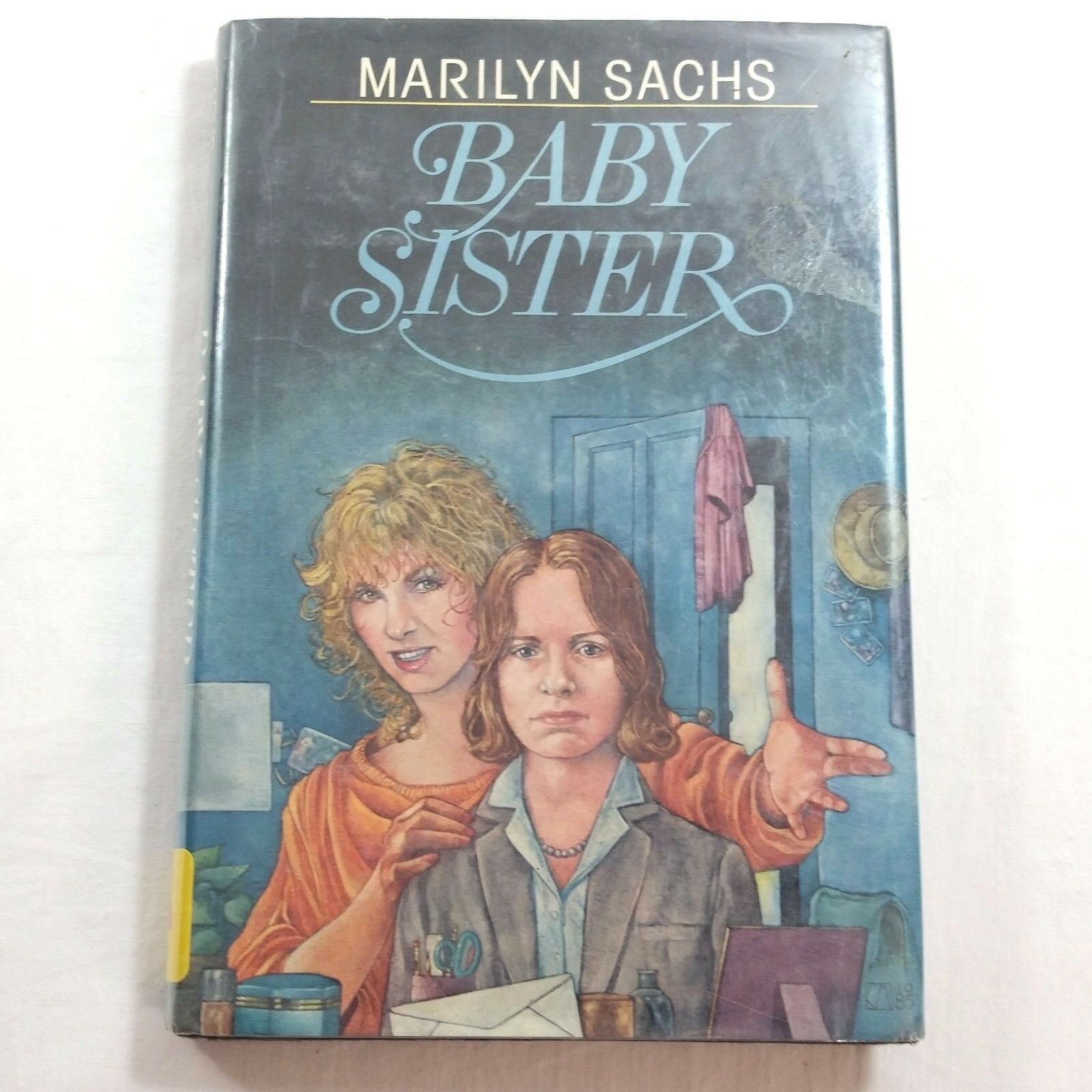 Baby Sister 1986 Childrens Vintage Book by Marilyn Sachs Hardcover Ex Library