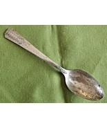 Oneida Vernon Silver Plate Romford Pattern Demitasse Spoon 1939 # 73258 ... - $5.89