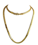 """Indian Bollywood Gold Plated 30"""" Long Box Chain Wedding Necklace Fashion... - $8.90"""