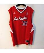 Adidas Men Los Angeles # 32 Jersey Size Large - $24.99