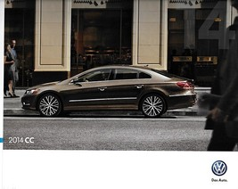 2014 Volkswagen CC brochure catalog 1st Edition US VW R-Line Executive 4... - $8.00