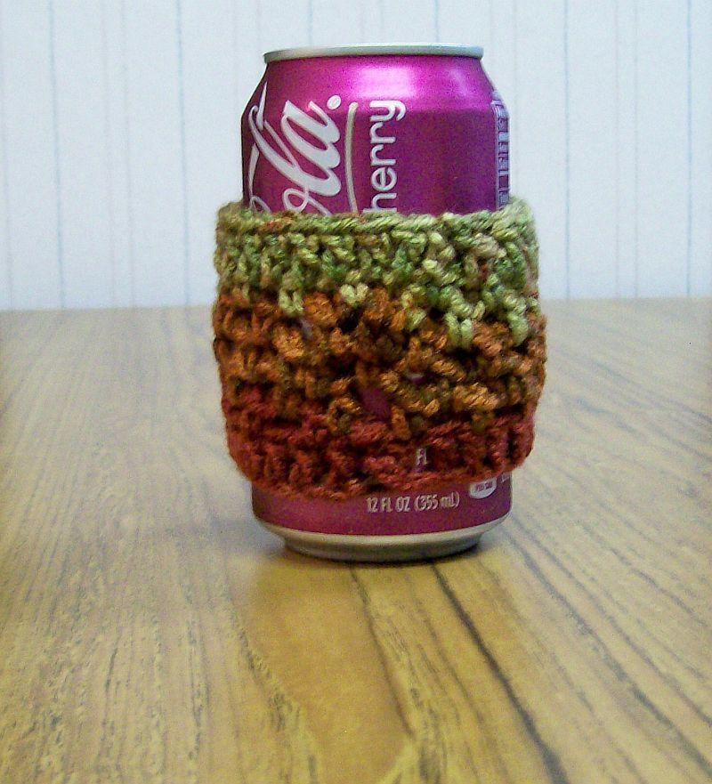 Crochet Drink Cozy, Handmade, Halloween Cozy, Coffee Warmer, Drink Mat, Placemat