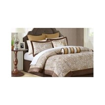Paisley Bedding Set Comforter Queen 12 Pc Jacqu... - $197.95